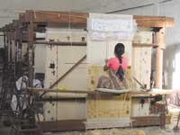 makalu weaving process